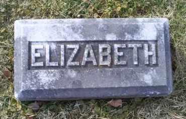 GOODMAN, ELIZABETH - Ross County, Ohio | ELIZABETH GOODMAN - Ohio Gravestone Photos