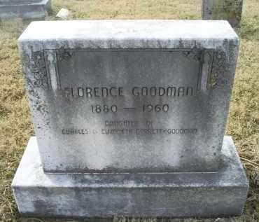 GOODMAN, FLORENCE - Ross County, Ohio | FLORENCE GOODMAN - Ohio Gravestone Photos