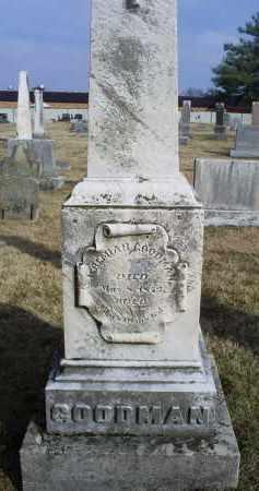 GOODMAN, JEREMIAH - Ross County, Ohio | JEREMIAH GOODMAN - Ohio Gravestone Photos
