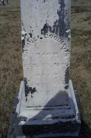 GOODMAN, SAMUEL - Ross County, Ohio   SAMUEL GOODMAN - Ohio Gravestone Photos
