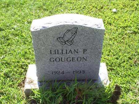 GOUGEON, LILLIAN P. - Ross County, Ohio | LILLIAN P. GOUGEON - Ohio Gravestone Photos