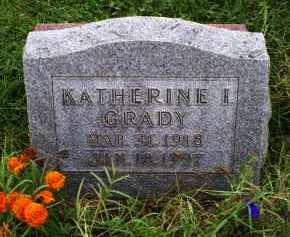 GRADY, KATHERINE I. - Ross County, Ohio | KATHERINE I. GRADY - Ohio Gravestone Photos