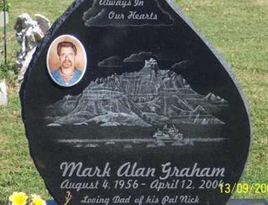 GRAHAM, MARK ALAN - Ross County, Ohio   MARK ALAN GRAHAM - Ohio Gravestone Photos