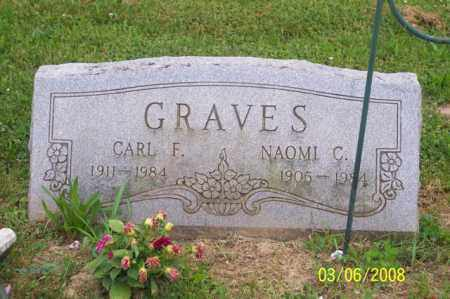 GRAVES, CARL F. - Ross County, Ohio | CARL F. GRAVES - Ohio Gravestone Photos