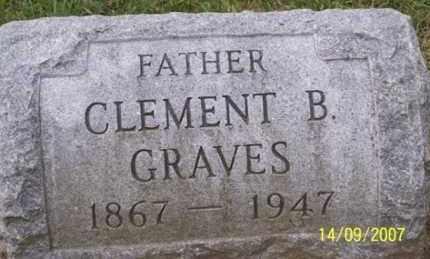GRAVES, CLEMENT B. - Ross County, Ohio | CLEMENT B. GRAVES - Ohio Gravestone Photos