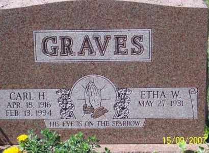 GRAVES, CARL H. - Ross County, Ohio | CARL H. GRAVES - Ohio Gravestone Photos