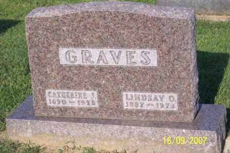 GRAVES, LINDSAY O. - Ross County, Ohio | LINDSAY O. GRAVES - Ohio Gravestone Photos