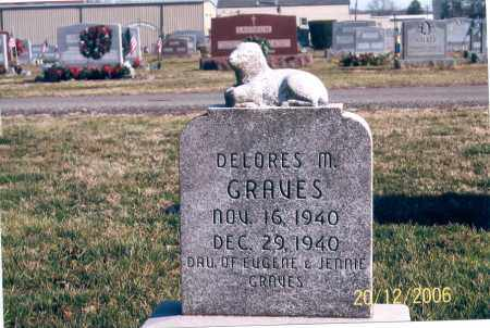 GRAVES, DELORES M. - Ross County, Ohio | DELORES M. GRAVES - Ohio Gravestone Photos