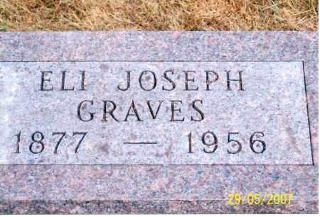 GRAVES, ELI JOSEPH - Ross County, Ohio | ELI JOSEPH GRAVES - Ohio Gravestone Photos