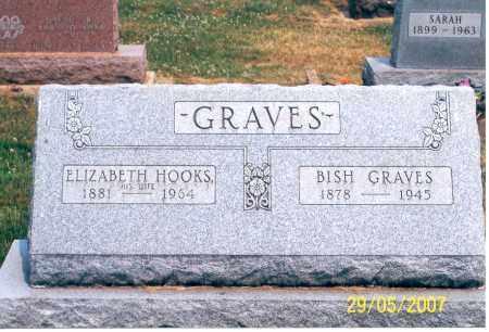 GRAVES, ELIZABETH - Ross County, Ohio | ELIZABETH GRAVES - Ohio Gravestone Photos