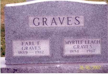 GRAVES, EARL F. - Ross County, Ohio | EARL F. GRAVES - Ohio Gravestone Photos