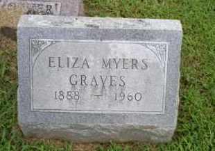 GRAVES, ELIZA - Ross County, Ohio | ELIZA GRAVES - Ohio Gravestone Photos