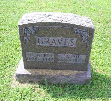 GRAVES, CARRIE - Ross County, Ohio | CARRIE GRAVES - Ohio Gravestone Photos