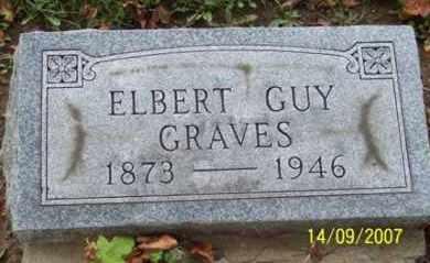 GRAVES, ELBERT GUY - Ross County, Ohio | ELBERT GUY GRAVES - Ohio Gravestone Photos