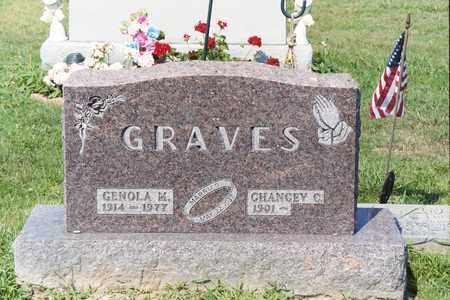 GRAVES, CHANCEY C - Ross County, Ohio | CHANCEY C GRAVES - Ohio Gravestone Photos