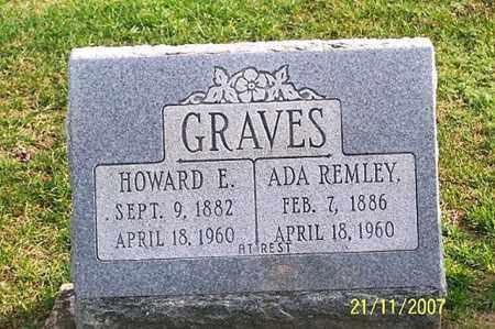REMLEY GRAVES, ADA - Ross County, Ohio | ADA REMLEY GRAVES - Ohio Gravestone Photos