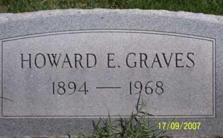 GRAVES, HOWARD E. - Ross County, Ohio | HOWARD E. GRAVES - Ohio Gravestone Photos