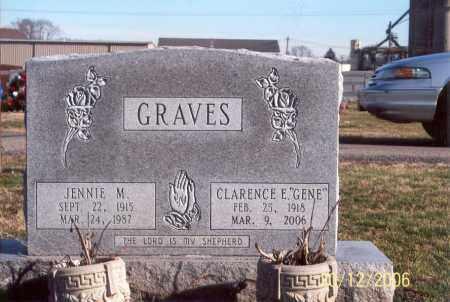 RADCLIFF GRAVES, JENNIE M. - Ross County, Ohio   JENNIE M. RADCLIFF GRAVES - Ohio Gravestone Photos