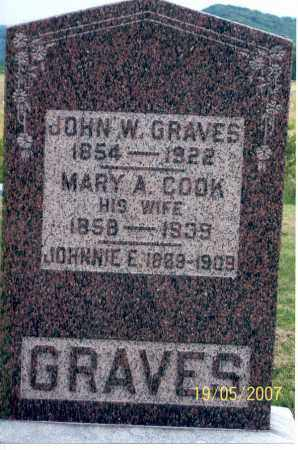 GRAVES, JOHN W. - Ross County, Ohio | JOHN W. GRAVES - Ohio Gravestone Photos