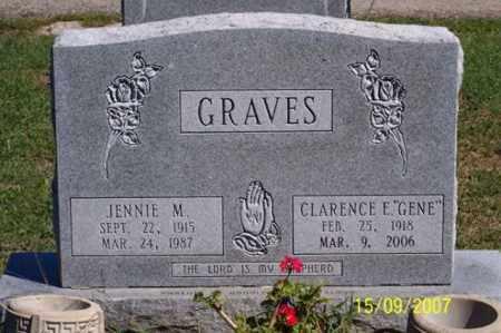 "GRAVES, CLARENCE E. ""GENE"" - Ross County, Ohio | CLARENCE E. ""GENE"" GRAVES - Ohio Gravestone Photos"