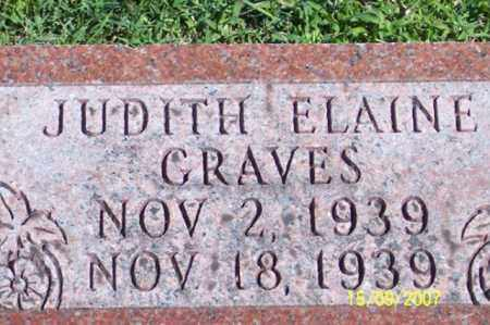 GRAVES, JUDITH ELAINE - Ross County, Ohio | JUDITH ELAINE GRAVES - Ohio Gravestone Photos