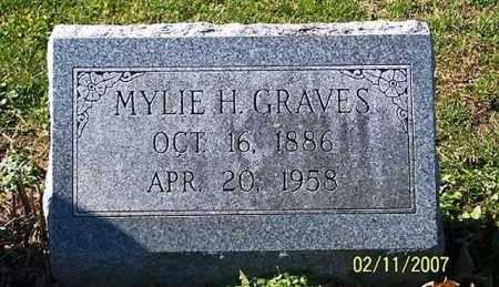 GRAVES, MYLIE H. - Ross County, Ohio   MYLIE H. GRAVES - Ohio Gravestone Photos