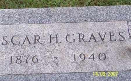 GRAVES, OSCAR H. - Ross County, Ohio | OSCAR H. GRAVES - Ohio Gravestone Photos