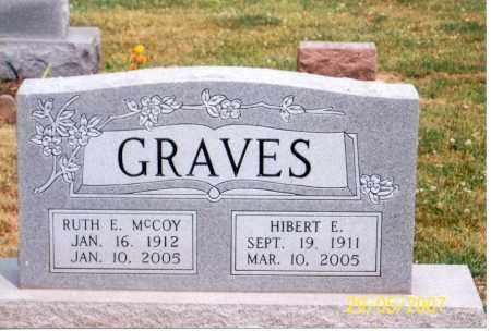GRAVES, HIBERT E. - Ross County, Ohio | HIBERT E. GRAVES - Ohio Gravestone Photos