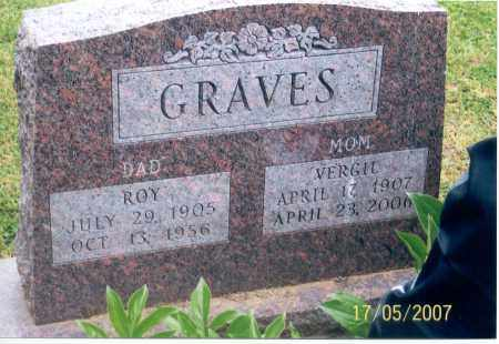 GRAVES, VERGIL - Ross County, Ohio | VERGIL GRAVES - Ohio Gravestone Photos