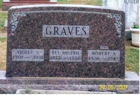 GRAVES, ROBERT A. - Ross County, Ohio | ROBERT A. GRAVES - Ohio Gravestone Photos