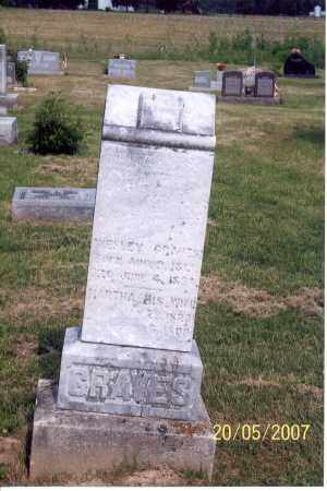 GRAVES, MARTHA - Ross County, Ohio | MARTHA GRAVES - Ohio Gravestone Photos
