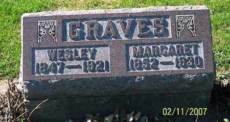 GRAVES, MARGARET - Ross County, Ohio | MARGARET GRAVES - Ohio Gravestone Photos