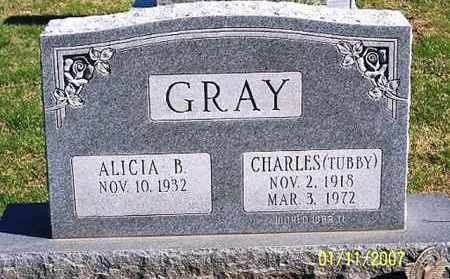 "GRAY, CHARLES ""TUBBY"" - Ross County, Ohio   CHARLES ""TUBBY"" GRAY - Ohio Gravestone Photos"