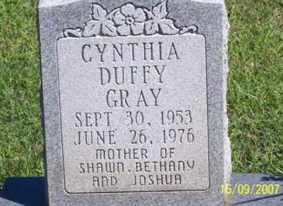 DUFFY GRAY, CYNTHIA - Ross County, Ohio | CYNTHIA DUFFY GRAY - Ohio Gravestone Photos