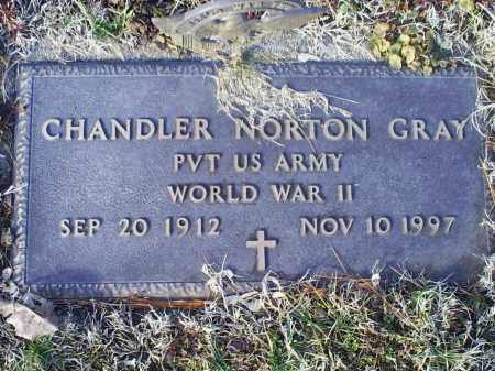 GRAY, CHANDLER NORTON - Ross County, Ohio | CHANDLER NORTON GRAY - Ohio Gravestone Photos
