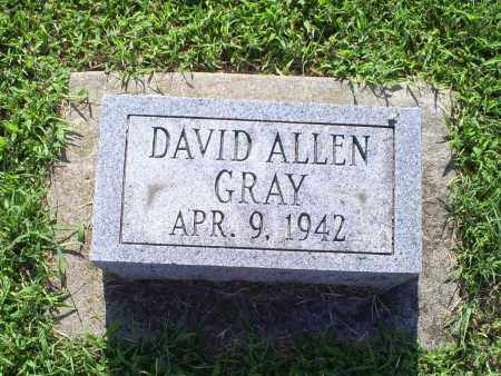 GRAY, DAVID ALLEN - Ross County, Ohio   DAVID ALLEN GRAY - Ohio Gravestone Photos