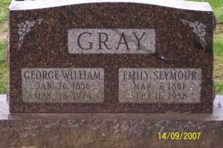 SEYMOUR GRAY, EMILY - Ross County, Ohio | EMILY SEYMOUR GRAY - Ohio Gravestone Photos