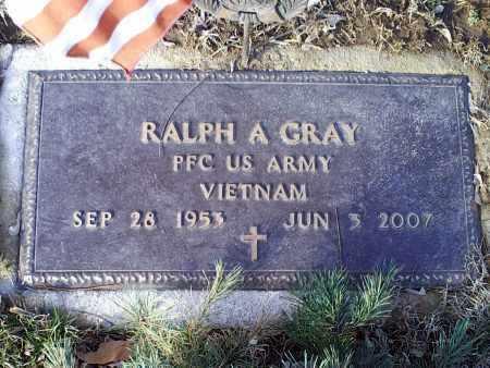 GRAY, RALPH A. - Ross County, Ohio   RALPH A. GRAY - Ohio Gravestone Photos