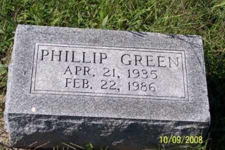GREEN, PHILLIP - Ross County, Ohio | PHILLIP GREEN - Ohio Gravestone Photos
