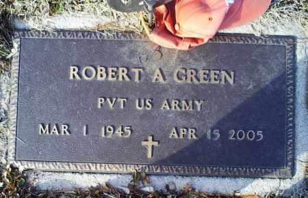 GREEN, ROBERT A. - Ross County, Ohio   ROBERT A. GREEN - Ohio Gravestone Photos