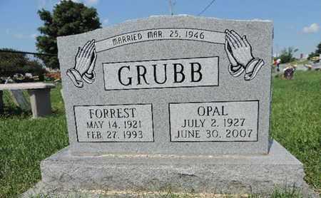 GRUBB, OPAL - Ross County, Ohio | OPAL GRUBB - Ohio Gravestone Photos