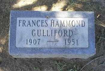 GULLIFORD, FRANCES - Ross County, Ohio | FRANCES GULLIFORD - Ohio Gravestone Photos