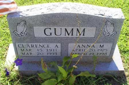 GUMM, CLARENCE A. - Ross County, Ohio | CLARENCE A. GUMM - Ohio Gravestone Photos
