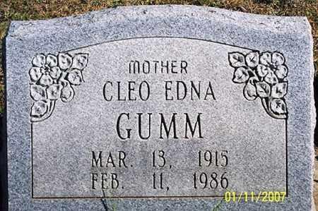 GUMM, CLEO EDNA - Ross County, Ohio   CLEO EDNA GUMM - Ohio Gravestone Photos