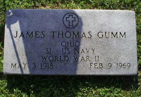 GUMM, JAMES THOMAS - Ross County, Ohio | JAMES THOMAS GUMM - Ohio Gravestone Photos