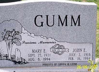 GUMM, MARY E. - Ross County, Ohio | MARY E. GUMM - Ohio Gravestone Photos