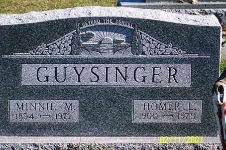 GUYSINGER, HOMER L. - Ross County, Ohio   HOMER L. GUYSINGER - Ohio Gravestone Photos
