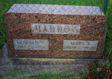 HADDOX, MARY J. - Ross County, Ohio | MARY J. HADDOX - Ohio Gravestone Photos