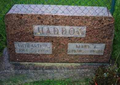 HADDOX, HOWARD A. - Ross County, Ohio | HOWARD A. HADDOX - Ohio Gravestone Photos