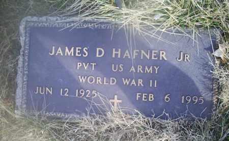 HAFNER, JAMES D. JR. - Ross County, Ohio | JAMES D. JR. HAFNER - Ohio Gravestone Photos